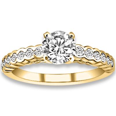 0 85ct yg vs si clarity accent diamonds