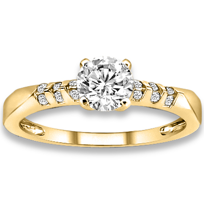 Clarity Accent Diamonds Engagement Ring Price Point Shop Jewellry